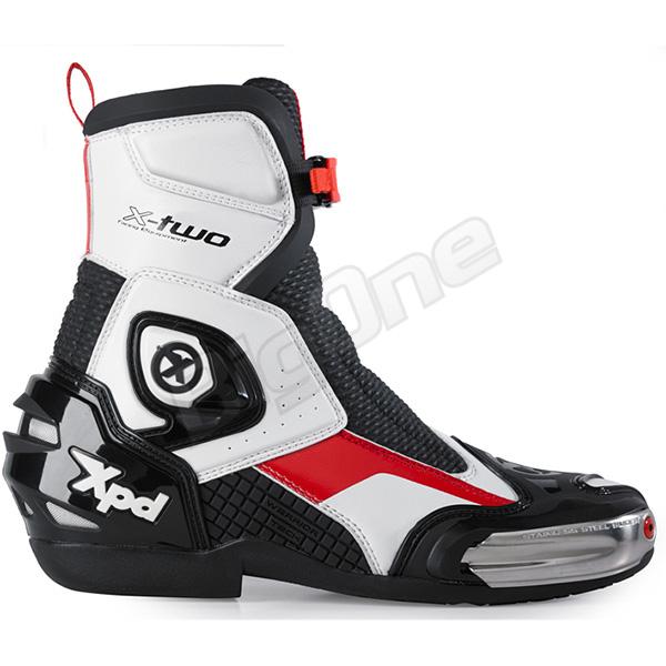 【ブーツ】【Xpd】 XPN021 X-TWO レーシングブーツ WHITE ホワイト 白 28.5cm (45) エックスピーディー RACING BOOT シューズ SHOES