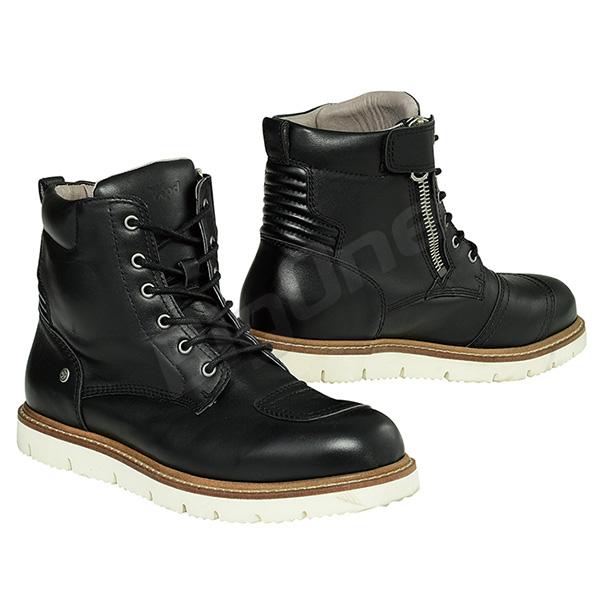 【ブーツ】【Xpd】 XPN022 X-VILLAGE ミドルカットブーツ BLACK ブラック 黒 27.5cm (43) エックスピーディー X-ビレッジ サイドジップ サイドジッパー レザー STREET BOOTS ストリートブーツ シューズ SHOES