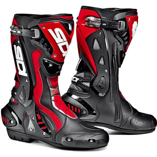 【シューズ】【SIDI】 RACING ST BOOT ブラック/レッド BK/RED 41 (26.0cm) シディ エスティー レーシング ブーツ 靴 シューズ