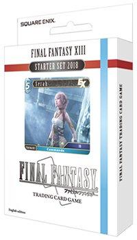 FF-TCG 超目玉 スターターセット2018 日本語版 ファイナルファンタジーXIII 限定価格セール