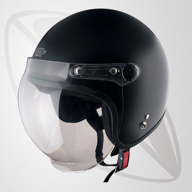 ジェット ヘルメット マッドブラック (bxx-606) 【サイズ 62~64cm】SG規格認定】【全排気量OK】【XXLサイズ】