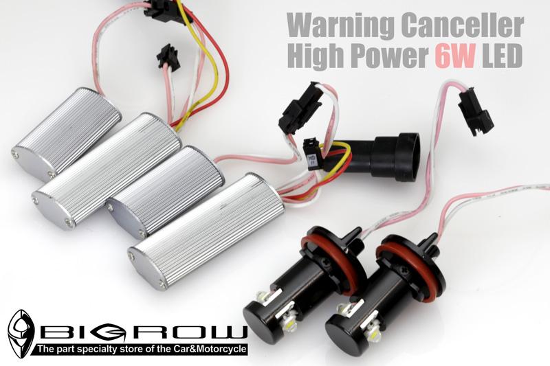 6W LED BULB BMW イカリング用 H8 ハイパワー6W!