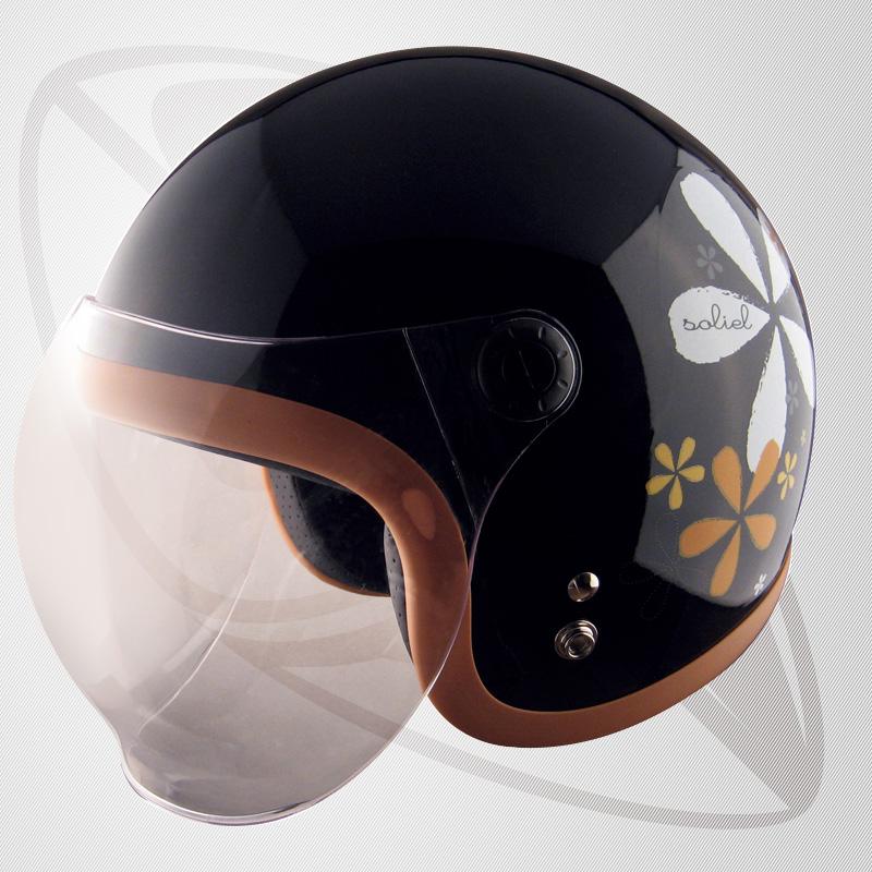 【SG規格認定】【全排気量OK】【LFサイズ】ジェット型ヘルメット リーフブラック(bbs-6sr)ジェットヘル 【サイズ 57~58cm】