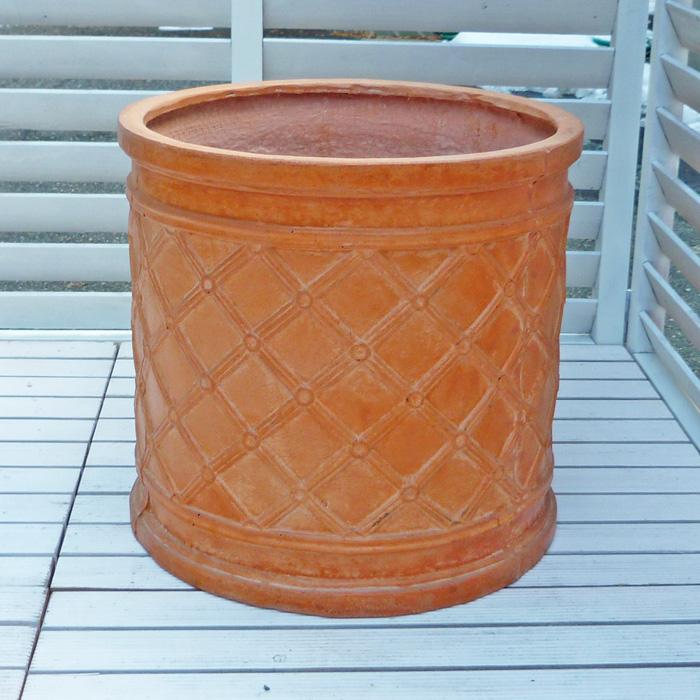 ファイバークレイプロ サン・トール リッジ 22 66 ≪大型植木鉢/陶器・テラコッタより軽量なセメントプランター≫