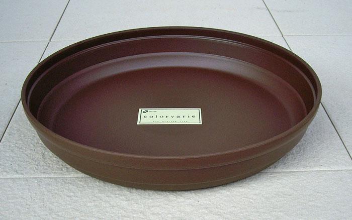リッチェル カラーバリエ 受皿 Cブラウン 4号 受け皿 鉢皿 スーパーセール期間限定 プラスティック 園芸 プランター シンプルなスタイルの可愛らしいプラスチック受皿です ついに再販開始 植木鉢 ガーデニング
