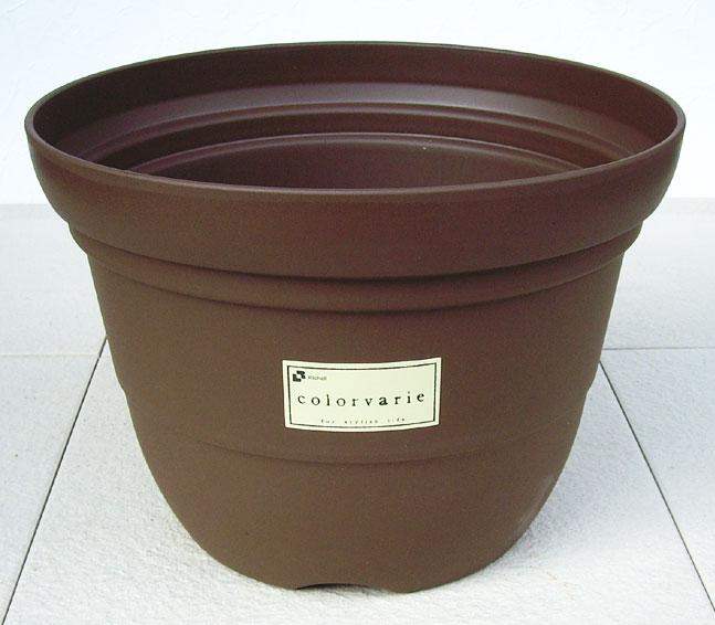リッチェル カラーバリエ 輪鉢 Cブラウン 再再販 4号 シンプルなスタイルの可愛らしいプラスチック鉢です プラスティック 信頼 プランター ガーデニング 植木鉢 プラ鉢 ベランダガーデン おしゃれ 園芸