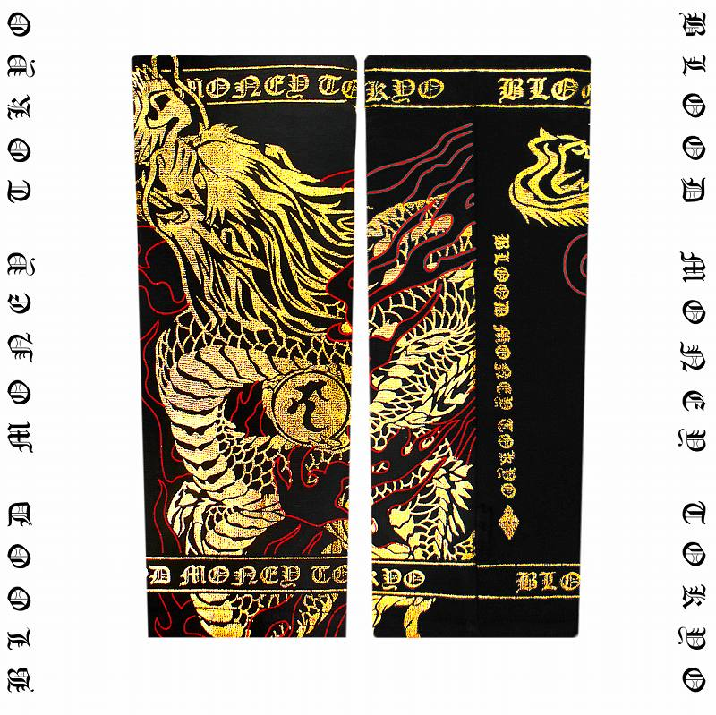 Supporters sex of evil-evil RA series Yakuza Yankee sex evil-evil Ryu 13006 black arm-x Gold long dragon