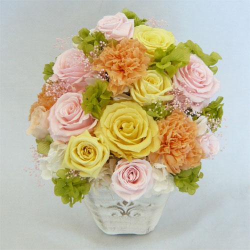 プリザーブドフラワー/フォンテーヌ パステル【誕生日 花】【結婚祝い 花】【結婚記念日 花】