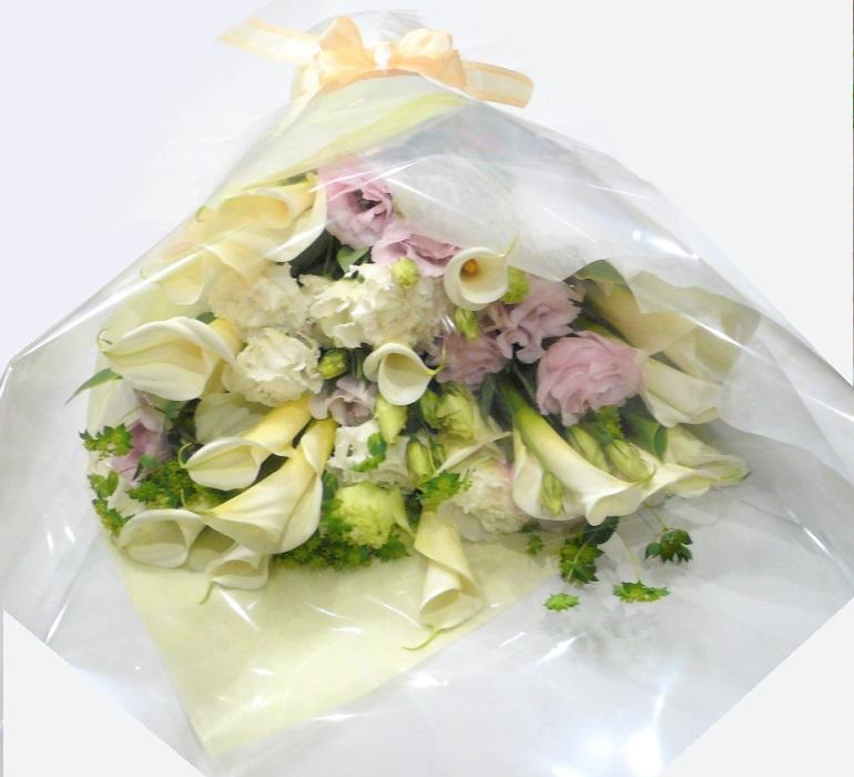カラーとバラの花束【結婚祝い 花】【結婚記念日 花】