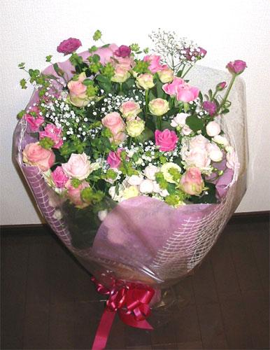 バラの花束/ロマンティックカラーブーケ スペシャル