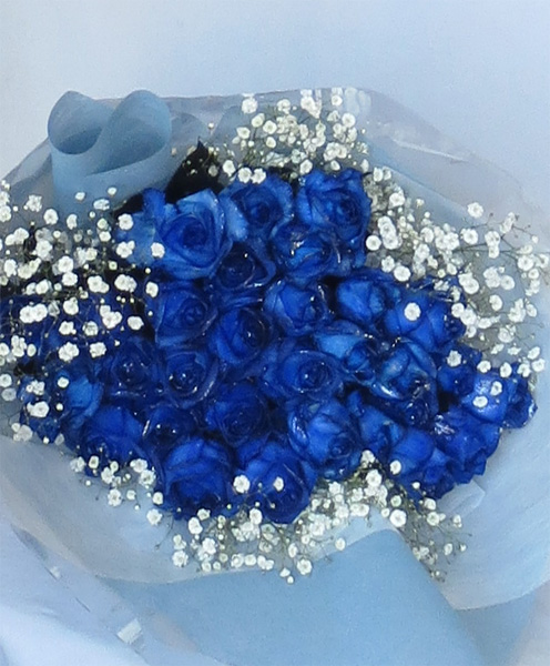 シルバーラメブルーローズ・青いバラ!30本