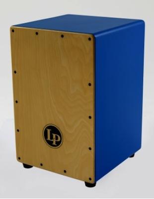 カラフルなカラー側面板を採用した、ポップなビギナー向け・激安カホン、フェスティーヴォ・カホン!!LP1442-BL LP Festivo Cajons【smtb-tk】