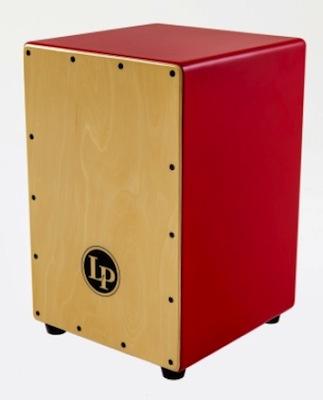 カラフルなカラー側面板を採用した、ポップなビギナー向け・激安カホン、フェスティーヴォ・カホン!!LP1442-RD LP Festivo Cajons【smtb-tk】