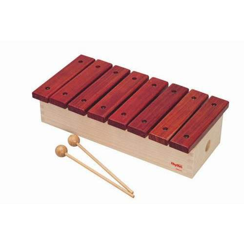 NAKANO ナカノ / Rhythm poco リズムポコ RP-1200/XY ふしぎ サイロフォン サウンドチャンパー 8音 キッズパーカッション