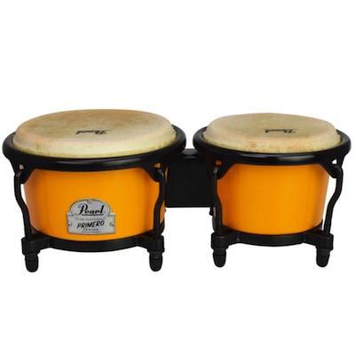 Pearl パール Mini Percussion ミニ・パーカッション PMB-1 ミニボンゴ レモンツイスト キッズパーカッション