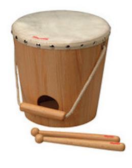 NAKANO ナカノ / Rhythm poco リズムポコ RP-560/BKD バケットドラム キッズパーカッション