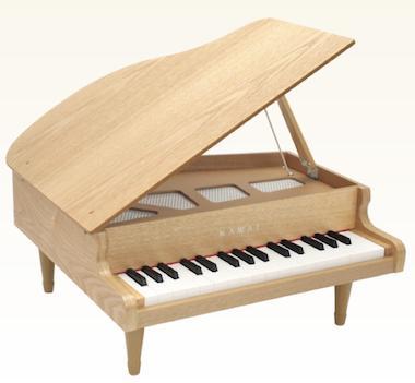 ★ お子様のプレゼントにオススメ!KAWAI・カワイ / グランドピアノミニ ナチュラル 1144 (32鍵)