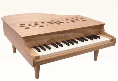★ お子様のプレゼントにオススメ!KAWAI・カワイ / ミニピアノ ナチュラル 1164 (32鍵)