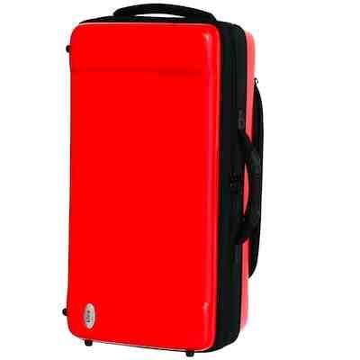 ★ 送料無料!bags・バッグスケース / ファイバー トランペットWケース EC2TRM Red トランペット2本用ハードケース【smtb-tk】