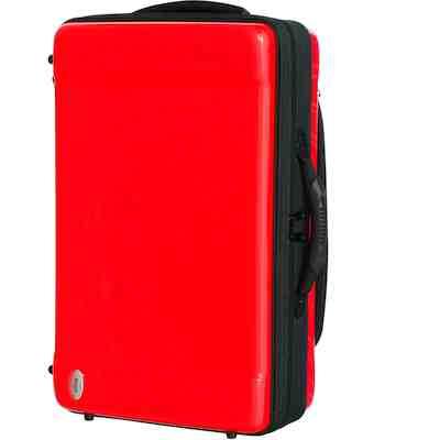 ★ 送料無料!bags・バッグスケース / EVOLUTION 4 TRUMPET EF4TR Red トランペット4本用ハードケース【smtb-tk】
