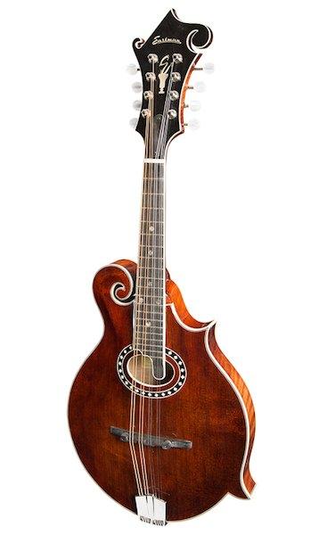 送料無料・ハードケース付!Eastman Guitars イーストマンギターズ / MD-814 ( Oval-Hole ) F-Style models フラットマンドリン【smtb-tk】