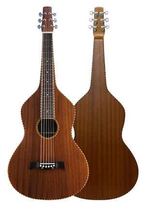 送料無料・専用ケース付き!Blanton・ブラントン BW-800 Weissenborn Guitar Rope Binding バンジョー ワイゼンボーンタイプ【smtb-tk】