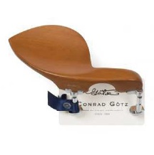 ☆ ドイツ製 あご当て・Made in GERMANY!Conrad Gotz / Violin Chinrest MOD.Guarneri/Hill-Type Clamp (Ebony/Rose/Boxwood) バイオリン用 顎当て