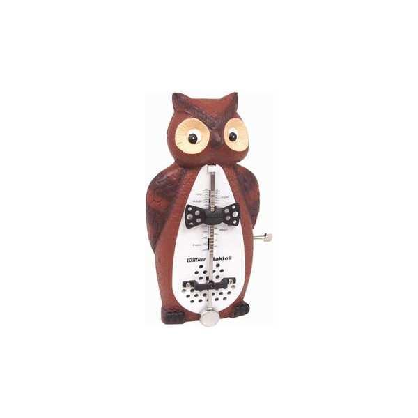 外国の雑貨みたいなフクロウのメトロノーム 開店祝い clmn nw wittner ウィットナー owl Series Animal メトロノーム フクロウ smtb-tk 公式ショップ