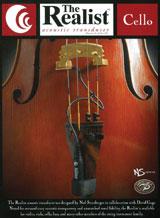 David Gage・デビット・ゲイジ / The Realist Cello RLSTC1 チェロ用ピックアップ【smtb-tk】