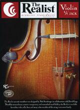 David Gage・デビット・ゲイジ / The Realist Violin RLSTVNMN mini plug バイオリン用ピックアップ【smtb-tk】