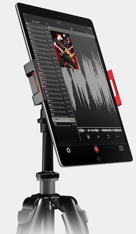 【あすつく】 IK Multimedia・アイケーマルチメディア / iKlip 3 Video iPad&タブレット用ユニバーサルカメラスタンド/マウント, タビラチョウ a77bd7dc