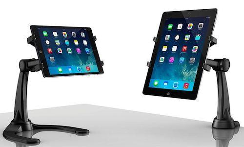 IK Multimedia・アイケーマルチメディア / iKlip Xpand Stand ipadシリーズ Android タブレット 対応デスクトップスタンド