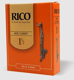 【定形外発送】】RICO バスクラリネット リード 25枚入り【smtb-tk】