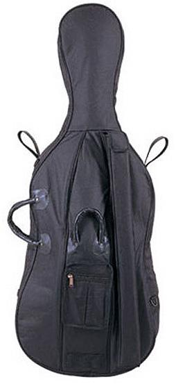 パッド材も厚手 弓ポケット お求めやすく価格改定 楽譜等を入れる大ポケットを装備 clcsvcc Carlo giordano カルロジョルダーノ 1 チェロ用キャリングバッグ 2サイズ ブラック smtb-tk 希少 CC-150