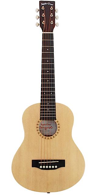 Sepia Crue セピアクルー W-60 NTL ナチュラル アコースティックミニギター【smtb-tk】