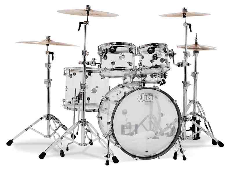 DW/ Design Clear Series 5-Piece Shell Pack Shell/ Clear/ Acrylic ドラムセット【smtb-tk】, 家具通販カグラボKAGULABO最安挑戦:7473264f --- ww.thecollagist.com