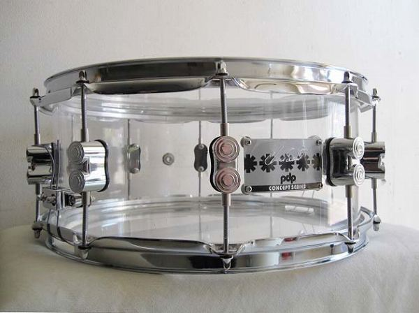 レッチリ・チャドスミス モデル!pdp by DW PA-PDSN0614SSCS・(RHCP) CHAD SMITH SIGNATURE SNARE DRUMS 14x6インチ【smtb-tk】