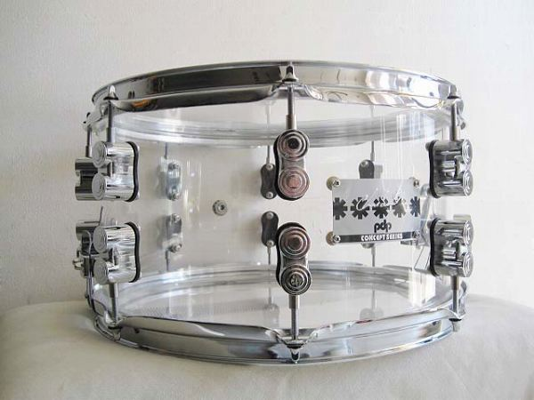 レッチリ・チャドスミス モデル!pdp by DW PA-PDSN0713SSCS・(RHCP) CHAD SMITH SIGNATURE SNARE DRUMS 13x7インチ【smtb-tk】