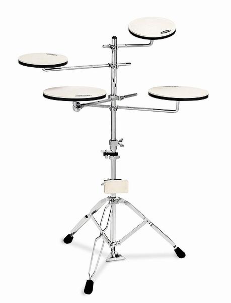 【ドラム練習グッズ】 DW / Go Anywhere 5ピース練習用パッドセット