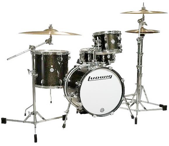 《小口径ドラムセット》 LC179X028 (White Sparkle) 【送料無料】 Ludwig BreakBeats / ブレイクビーツ