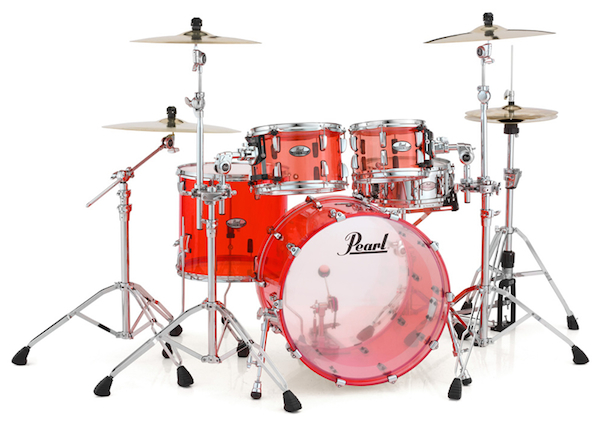 PEARL パール / CRYSTAL BEAT 4-pieces Shell Pack CRB524P/C #731 RUBY RED クリスタルビート 4ピースシェルパック アクリルドラムSET(受注生産品3ヶ月~)【smtb-tk】