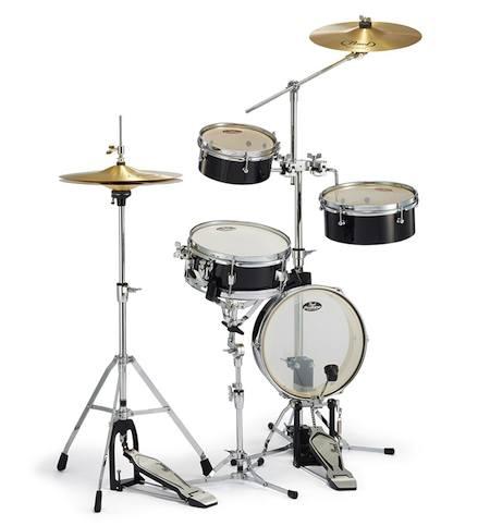 "PEARL パール / Rhythm Traveler ""Light "" RT-5124N #31 ジェットブラック ドラムSET【smtb-tk】"
