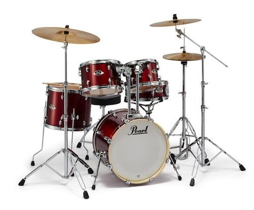 送料無料!Pearl パール / EXX Covering EXX785/C シンバル付ドラムフルセット (ジュニアサイズ) #760 Burgundy【smtb-tk】