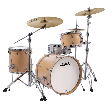 Ludwig ラディック / L24023TX3Q NeuSonic Series ニューソニックシリーズ / BD20, FT14, TT12, Tom Clamp / Suger Maple Finish【smtb-tk】