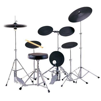 【ドラム練習グッズ】 MAXTONE・マックストーン / TD-5DX トレーニングドラムセット