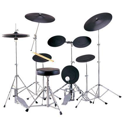 【ドラム練習グッズ】 MAXTONE・マックストーン / TD-5CST トレーニングドラムセット
