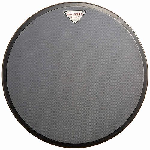 【ドラム練習グッズ】 Playwood・プレイウッド / TD-85 ゴムヘッド練習台 12インチ