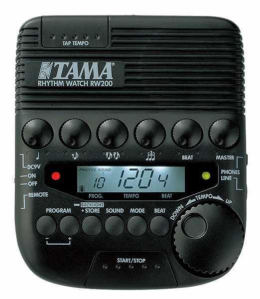 【ドラム練習グッズ】 TAMA・タマ / RW200 ドラム用メトロノーム