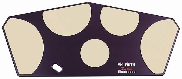 【ドラム練習グッズ】 VIC FIRTH・ヴィックファース / HHPQS クワトロパッド トレーニングパッド マーチング