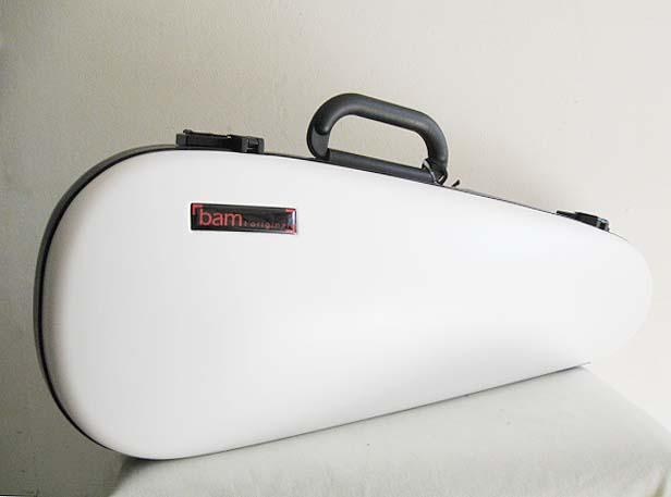 ☆ BAM バム / 2003XL High-tech Cabine 4/4サイズ用 バイオリン用ケース (White)【smtb-tk】